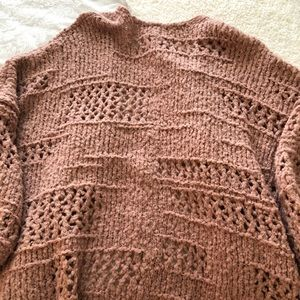 Free People Sweaters - Free People Saturday Morning Cardigan Pink